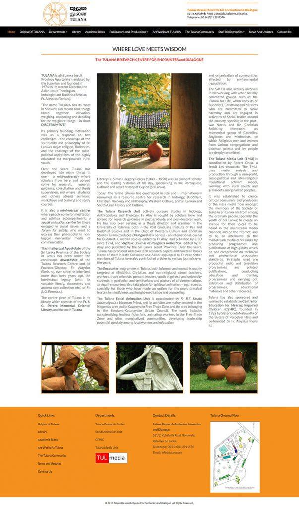 tulana-website