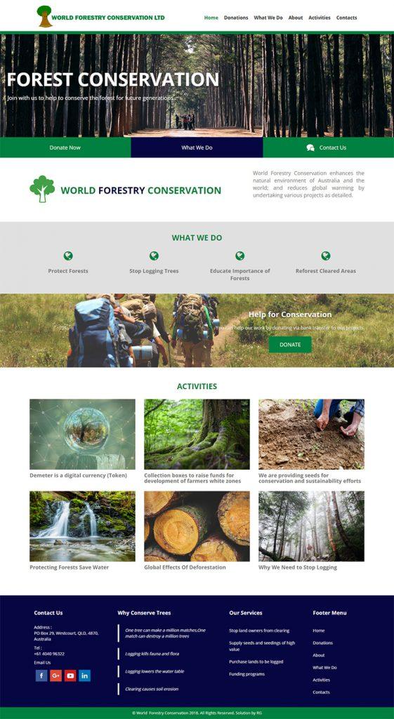 world-forest-conservation-website