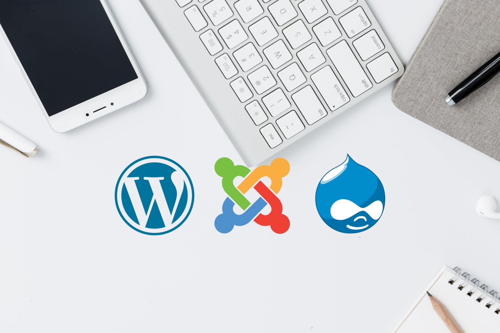 WordPress vs Joomla vs Drupal Comparison - What is best for your business website